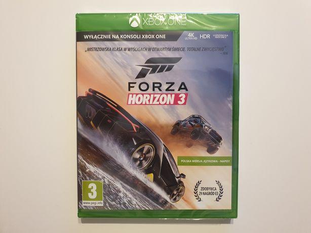Forza Horizon 3 PL Xbox One Nowa Folia