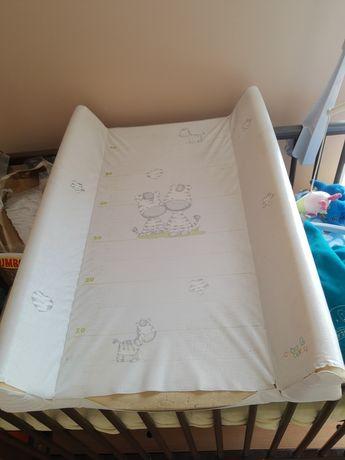 Przewijak na łóżeczko wraz z prześcieradłem