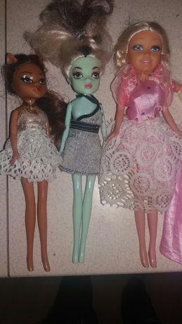Lalki barbie i monster hight