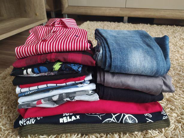 Paka ubrań dla chłopca od 110 do 122
