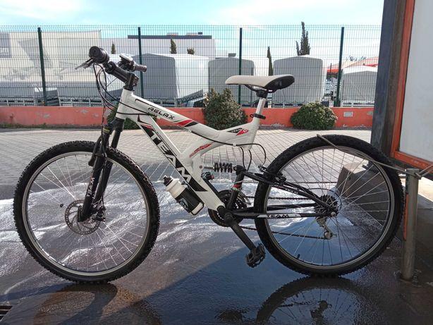Bicicleta mal foi usada