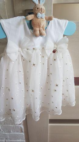 Sukienka na chrzest Mayoral 68