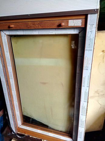 Okna potrójnie szklone uchylane, otwierane - 3 sztuki NOWE