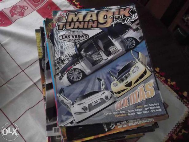 Revistas(31) magik tuning plus,super tuning e gti mag