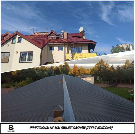 Malowanie Dachów hali, impregnacja dachówki ,Szkół,Kościołów Gwarancja