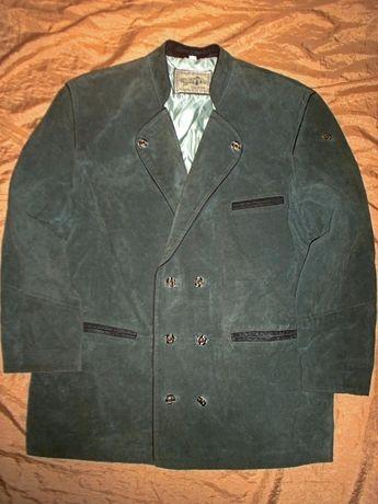 Национальный альпийский Баварский кожаный пиджак Landhausmode