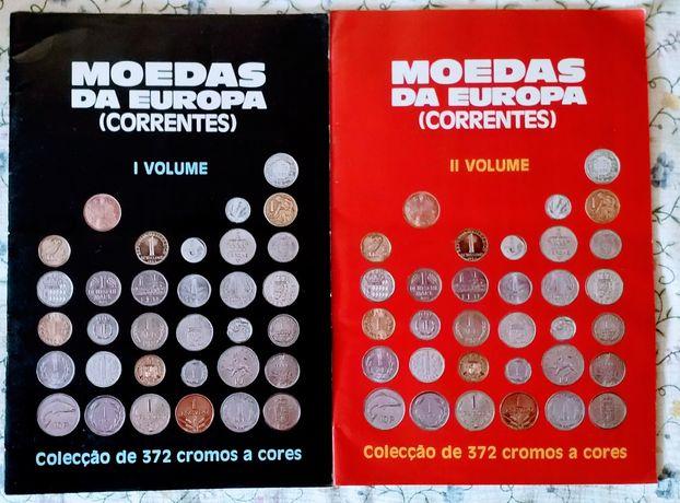 Moedas da Europa (correntes)Vol.1 e 2