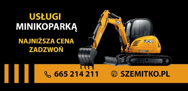 Usługi minikoparka, Świdnica, Dzierżoniów i okolice