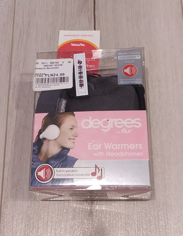 Nauszniki słuchawki głośniki nowe degrees zimowe