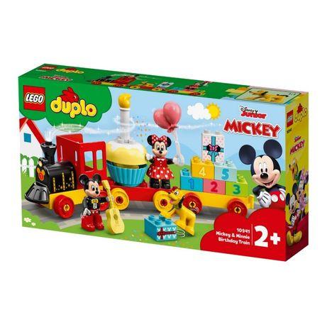 LEGO DUPLO Конструктор Disney Праздничный поезд Микки и Минни 10941