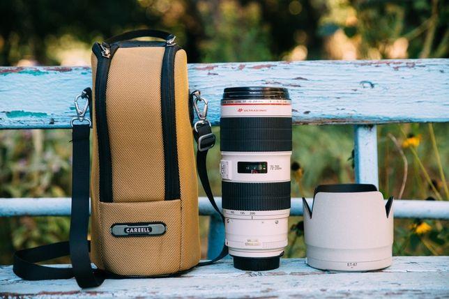 Canon 70-200 mm 2.8 f II IS ( 2 версия со стабом )