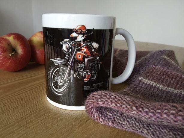 Motocyklowy kubek motocykl WSK
