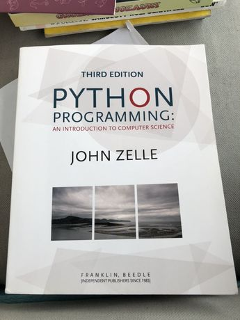 Python Programming an Introduction to Computer Science John Zelle