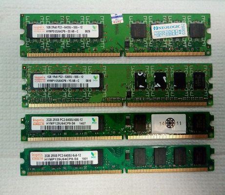 Оперативная память DDR2, 1 и 2 GB, Hynix