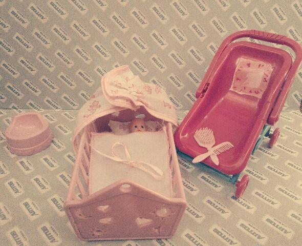 Лялька немовля коляска і кроватка Бровары - изображение 1