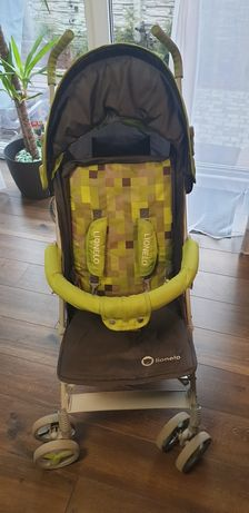 Wózek spacerówka parasolka składany Lionelo Elia zielony