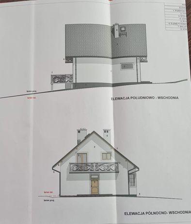 Dom w Lubomierzu - Gorce, Beskid Wyspowy