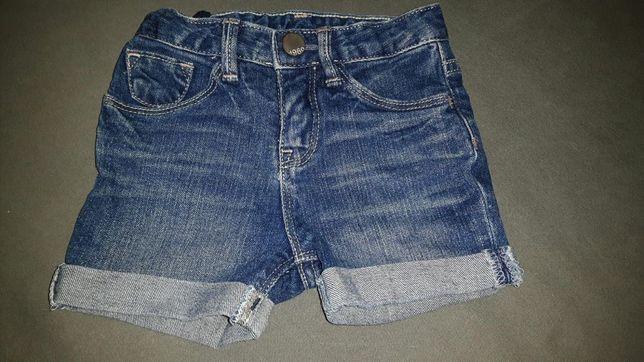 Spodenki jeansowe Gap 2 latka