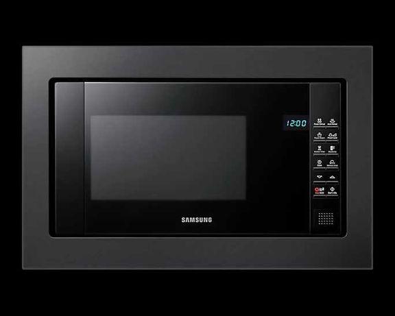 Samsung FG87SUB Kuchenka mikrofalowa do zabudowy, czarna, na gwarancji