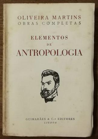 elementos de antropologia, oliveira martins, guimarães
