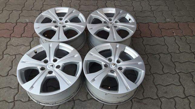 "Felgi aluminiowe 17"" Renault Megane III Scenic 5x114,3 Oryginalne"