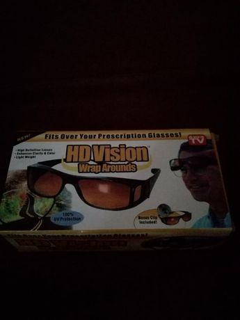 Okulary do jazdy samochodem rozjaśniające HD Vision 2 sztuki