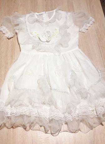 Платье на утренник на 4-5 лет