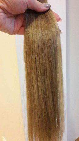 Włosy 100% naturalne przezroczyste taśmy