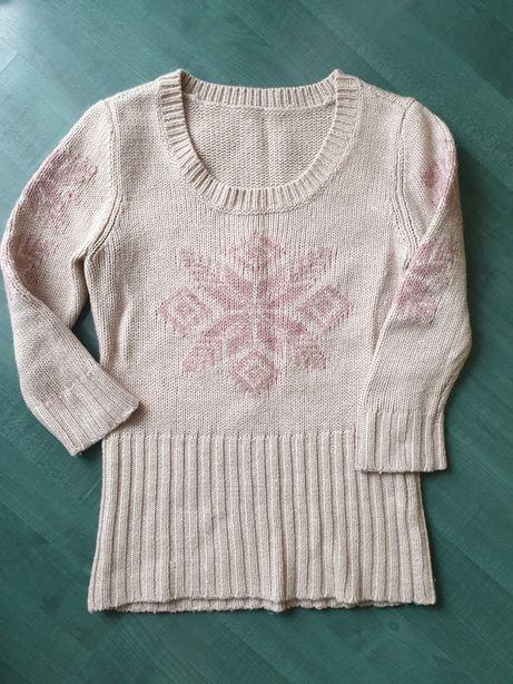 Sweter 3/4 rękaw
