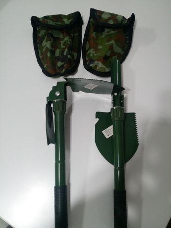 Saperka Kilof lub motyczka Składana 42cm Łopata Skręcana kompas
