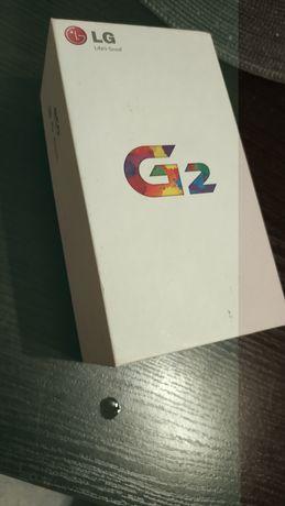 Pudełko LG G2 używane
