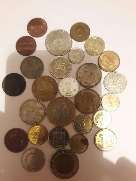 Монеты СССР, США, Африка, Азия, разных стран мира