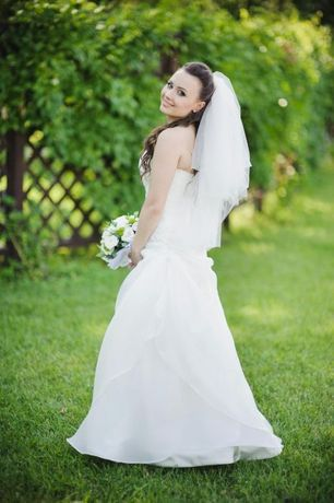 Свадебное платье размер S-XS
