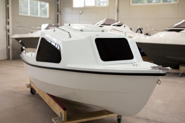 Łódź łódka kabinowa motorowa wiosłowa wędkarska