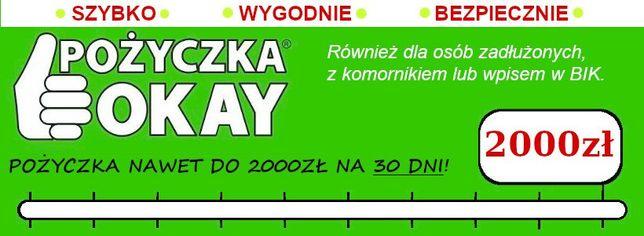 Pożyczka do 2 tys zł