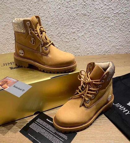 Ботинки timberland x jimmy choo (сапоги осень)