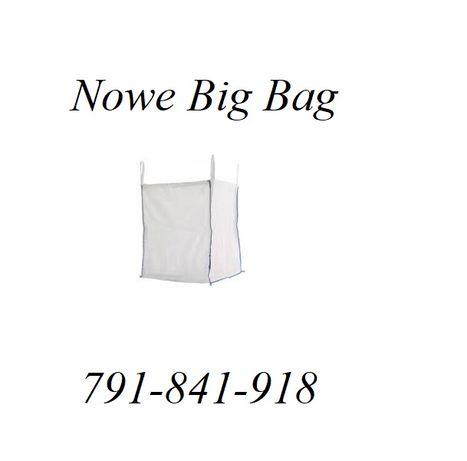 Big Bag na zboże nawozy 90x90x120cm Nowe z Otwartą Górą!