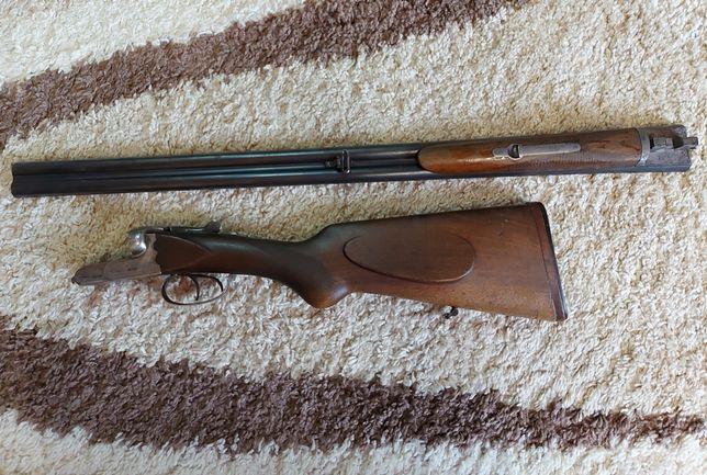 Ружье охотничье/ двухствольное/ simson 16 калибр 1946 немецкое ружье