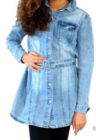 Tunika sukienka jeansowa 122