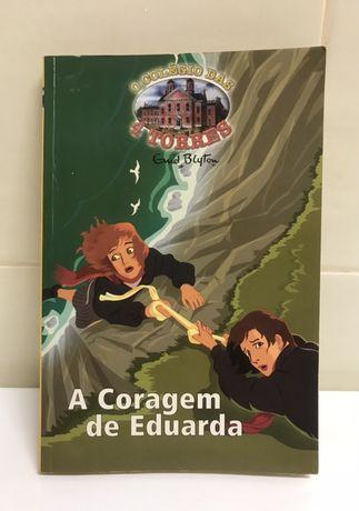 """Livro """"A Coragem de Eduarda"""" - O Colégio das 4 Torres"""