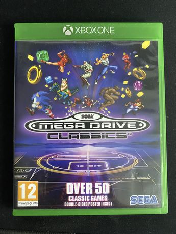 Gra SEGA Mega Drive Classic 50 gier xbox one