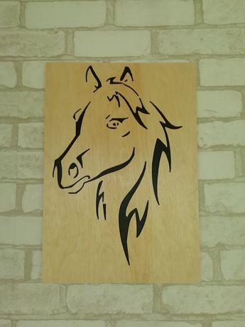 """Панно декор """"Лошадь"""""""