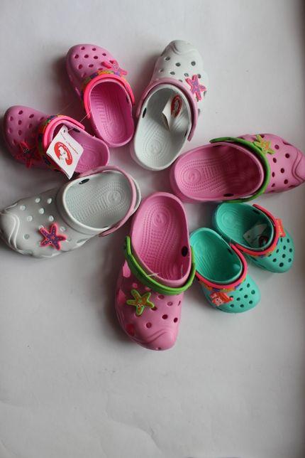 Кроксы на девочку (туфли сабо)