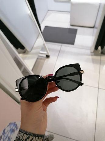 Okulary przeciwsłoneczne kocie oko