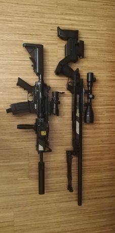 Zestaw Asg snajperka i karabin M4A1