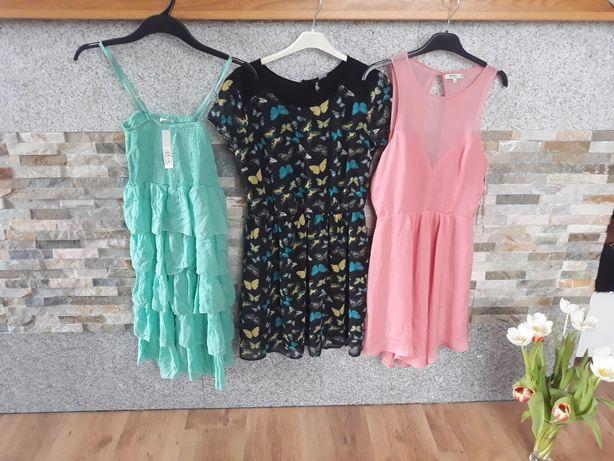sukienki rozmiar  S - całość + 1zl wysyłka