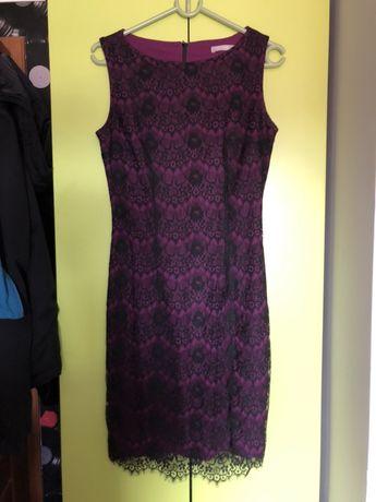 Elegancka koronkowa sukienka ORSAY