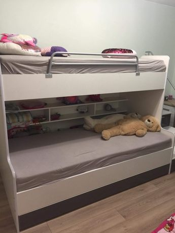 Lóżko piętrowe dla dzieci