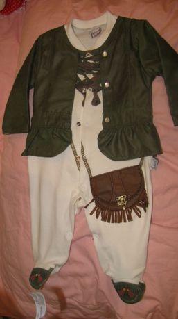 Нарядный человечек для девочки, праздничный костюм ковбой
