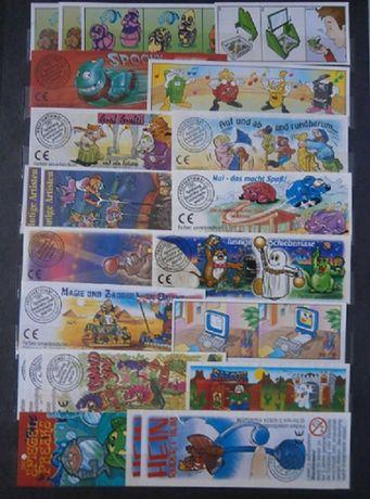 Karteczki od kinder niespodzianek składanych cz.1